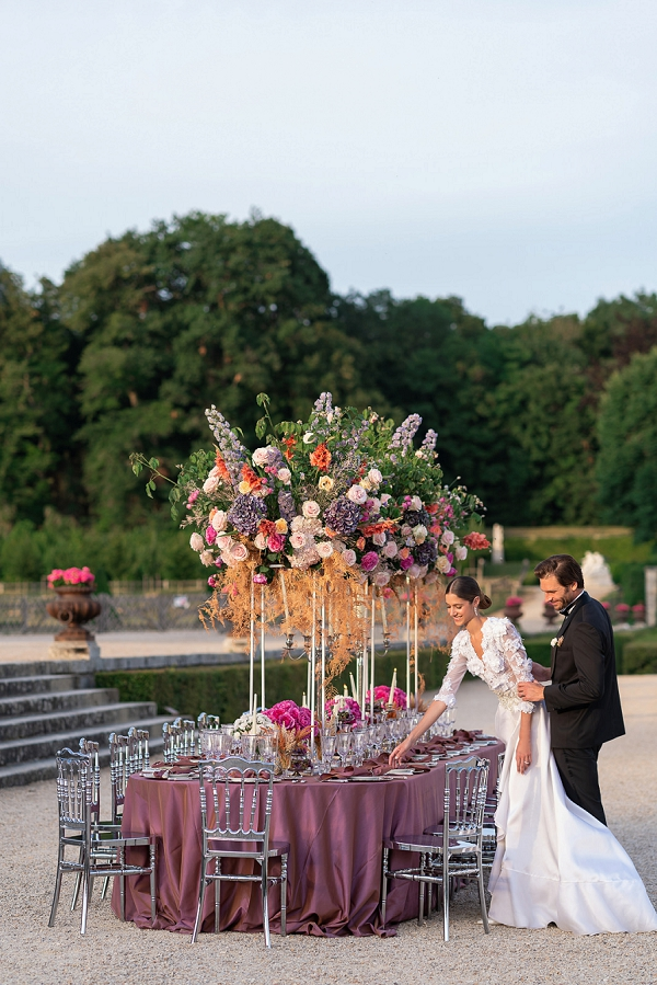 luxury wedding florals