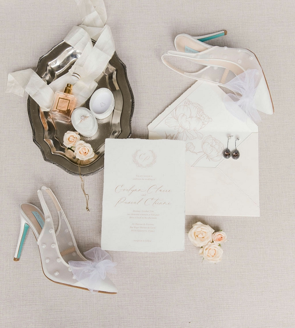 luxury wedding invite