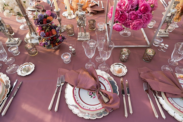 luxury wedding table settings