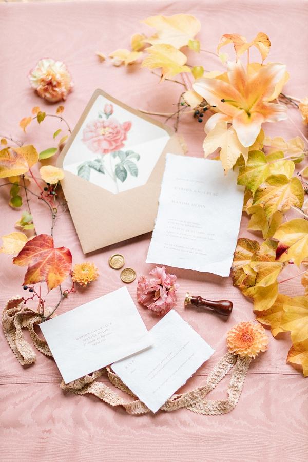 personalised wedding stationery
