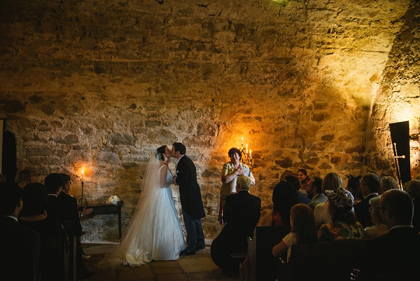 rustic ceremony wedding in Loire Valley