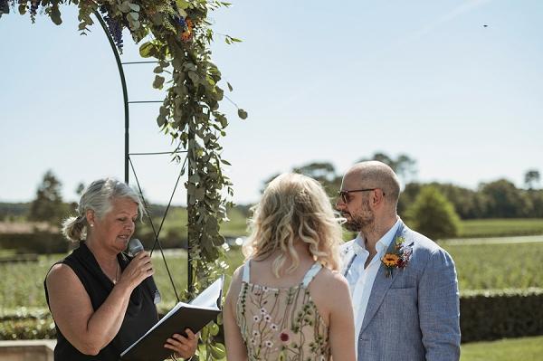 sunflower wedding boutonniere