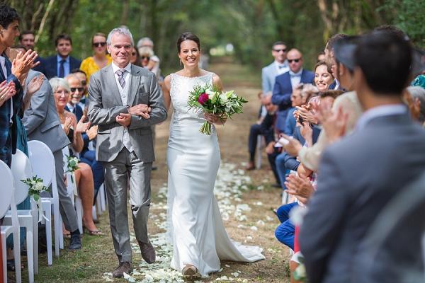 wedding ceremony Château des Lys