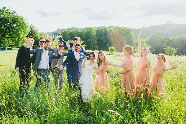 wedding photos at historic Chateau