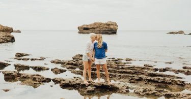 Beach Engagement in Biarritz