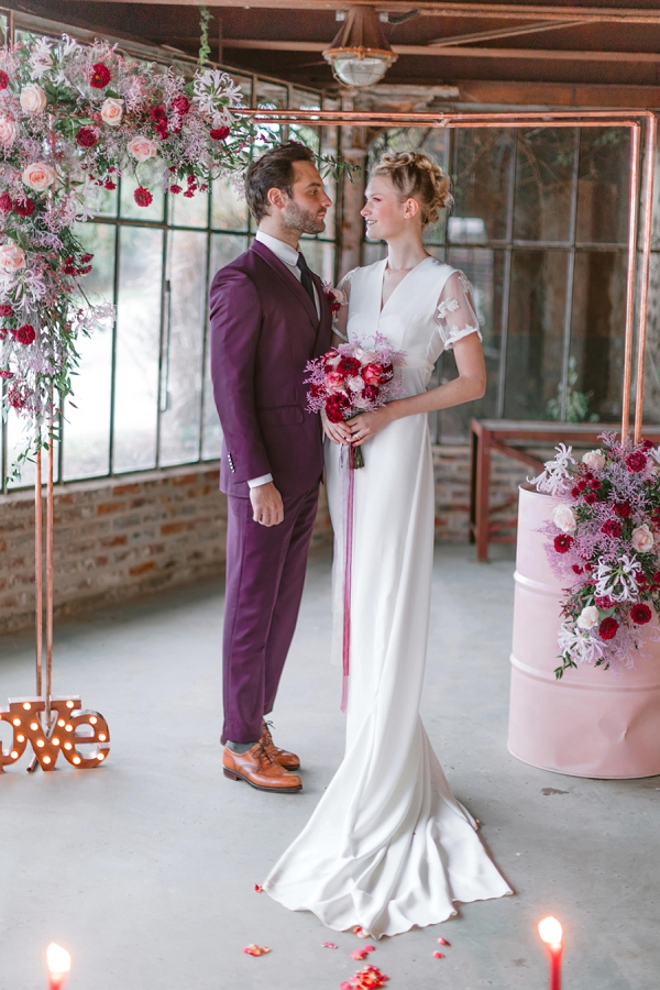 Burgundy wedding inspo