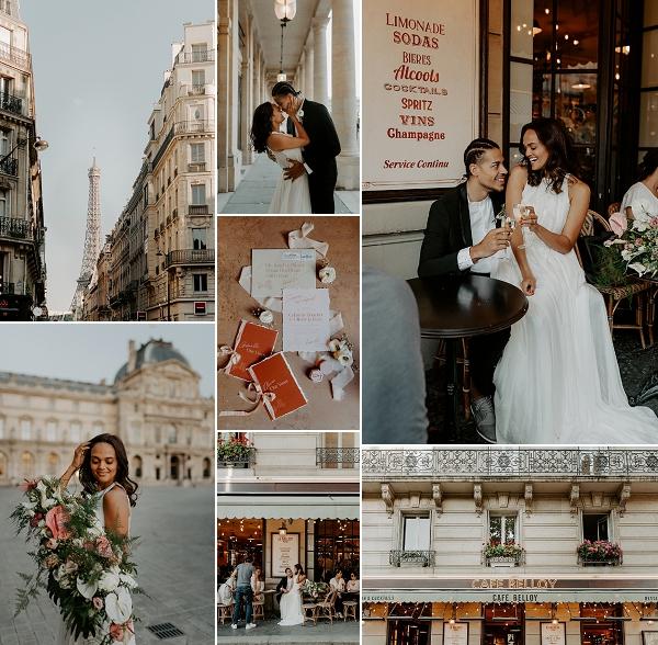 Carol Hannah Bridal Session in Paris Snapshot