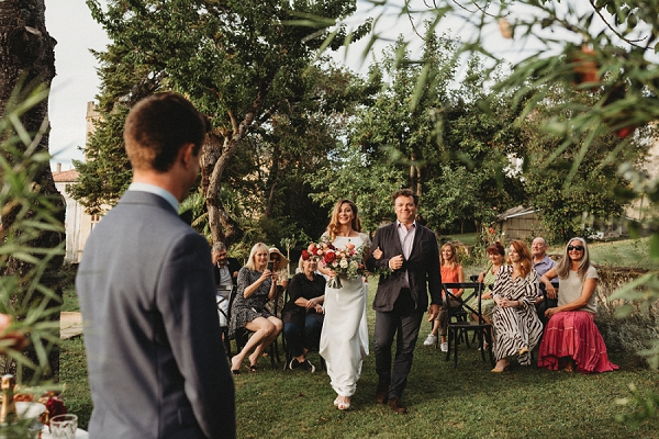 Chateau Terre Blanche outdoor ceremony