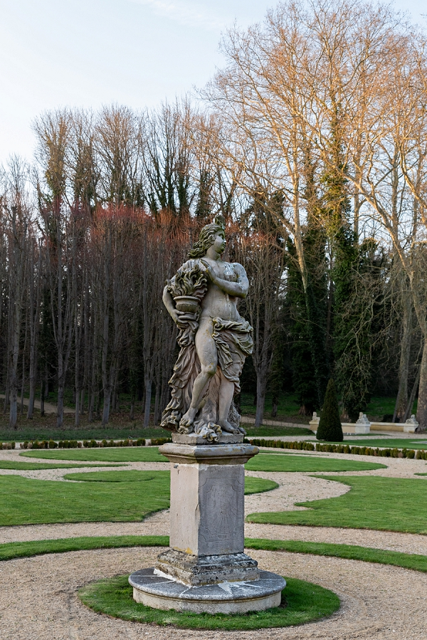 Chateau de Villette gardens