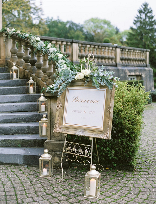 Chateau du bois d'Arlon wedding