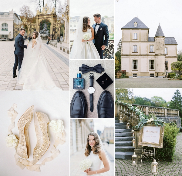 Classic Elegant wedding in Nancy France Snapshot