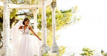 Cote D'Azur wedding inspiration at Chateau Saint Georges