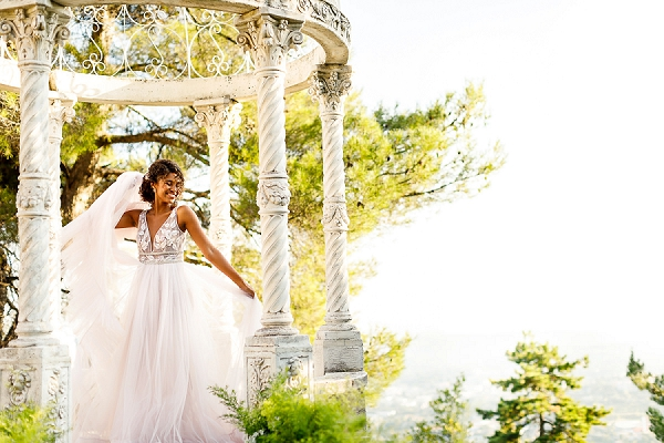 Cote D'Azur wedding inspiration at Chateau Saint Georges