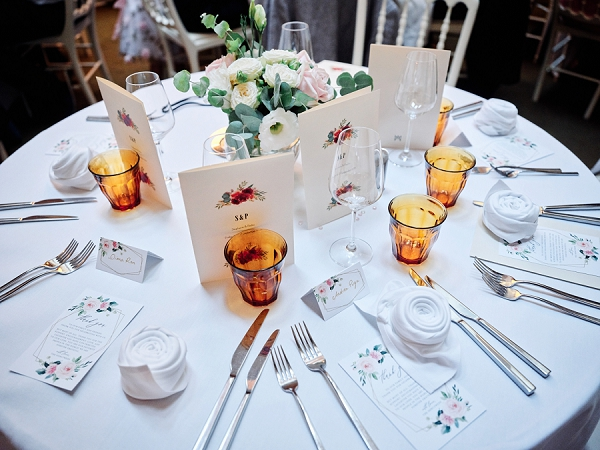 Hotel Marignan wedding breakfast