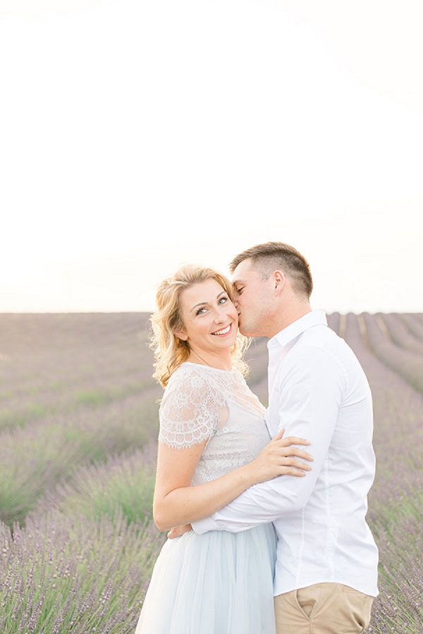 South of France engagement shoot