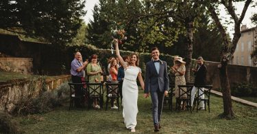 Vintage glam wedding at Chateau Terre Blanche