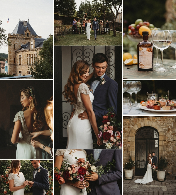 Vintage glam wedding at Chateau Terre Blanche Snapshot
