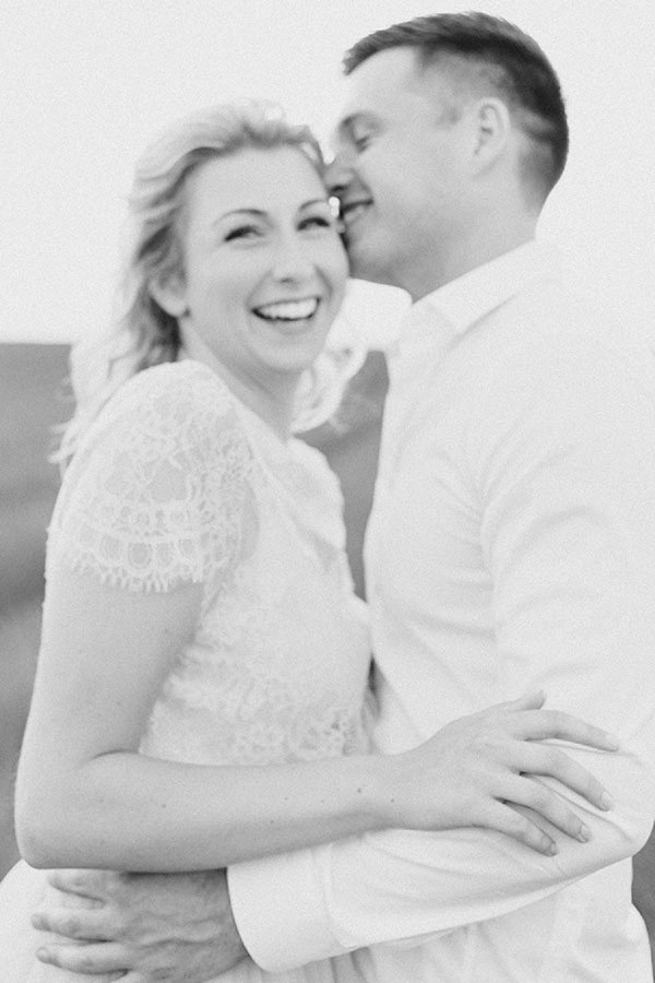black and white romantic photography