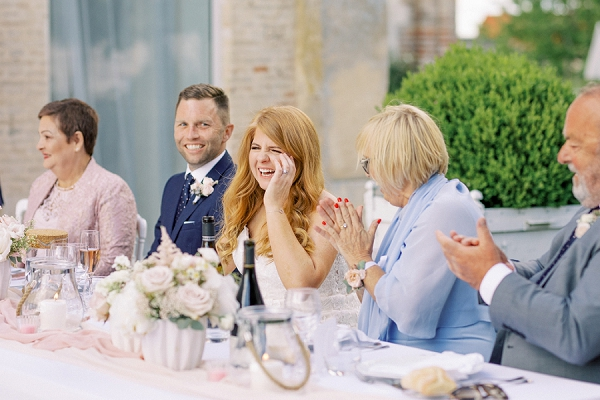 outdoor wedding speeches
