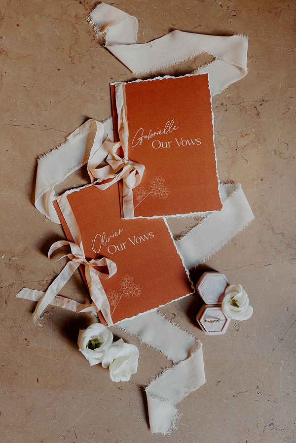 personalised vow books