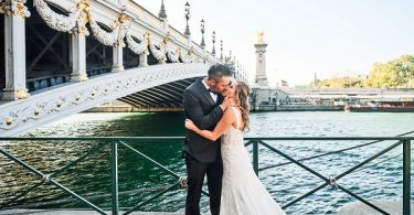 romantic Paris destination wedding