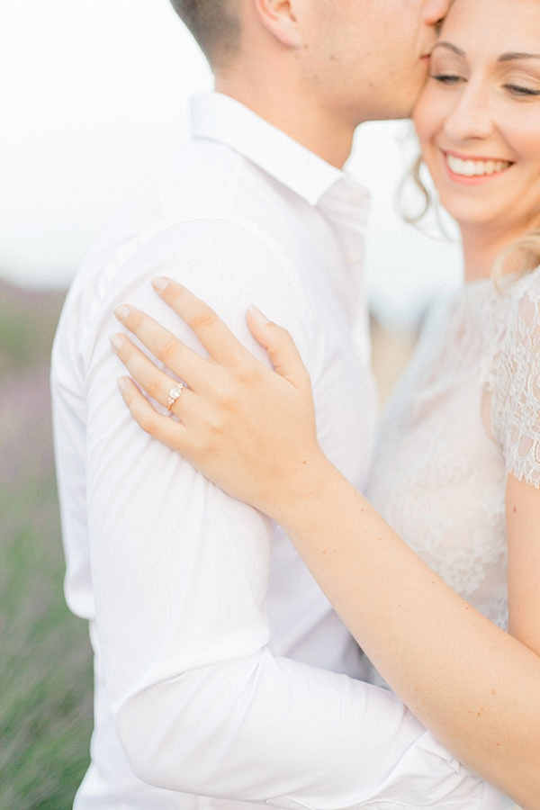 romantic engagement session in South of france