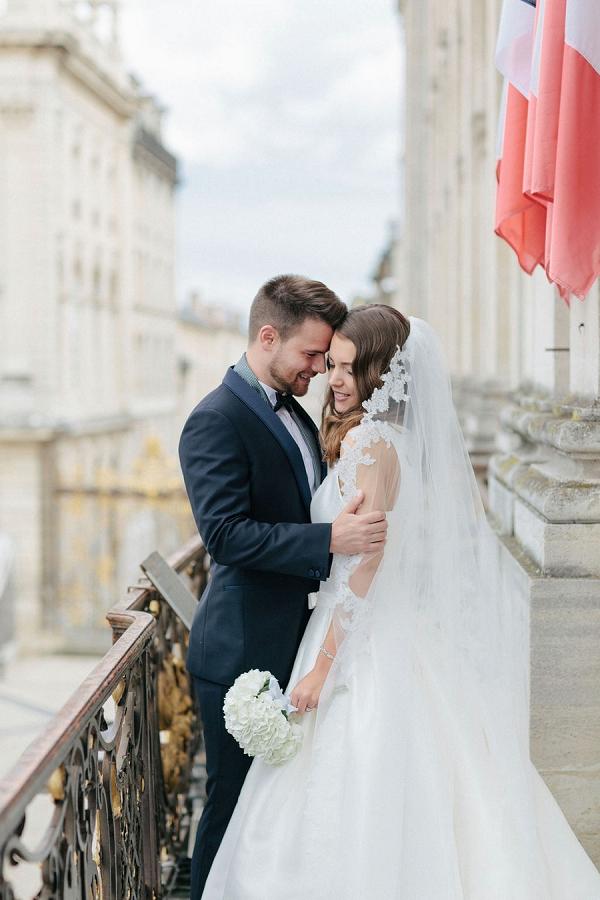 romantic wedding in France