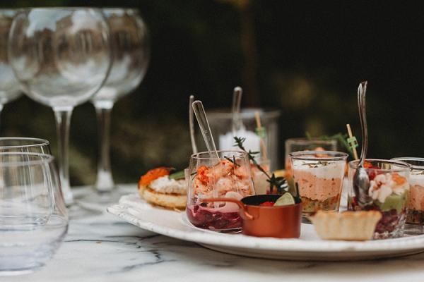wedding food inspiration