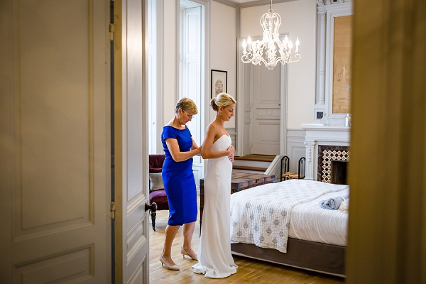 Chateau Les Carrasses bridal suite