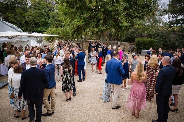 Languedoc wedding reception