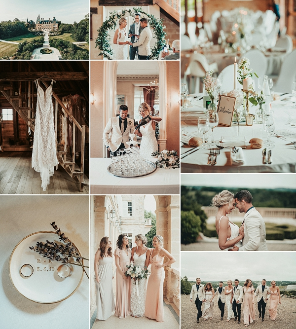 Party wedding at Domaine d'Essendiéras Snapshot