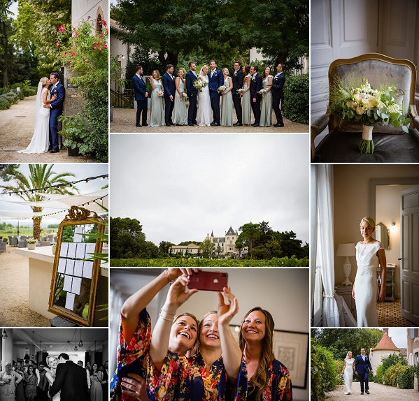 Relaxed chic wedding at Chateau Les Carrasses Snapshot