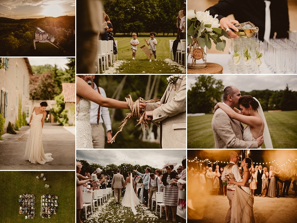 Renaissance styled wedding at Chateau Saint Martory Snapshot
