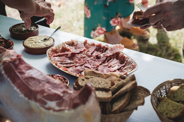 South of France wedding catering