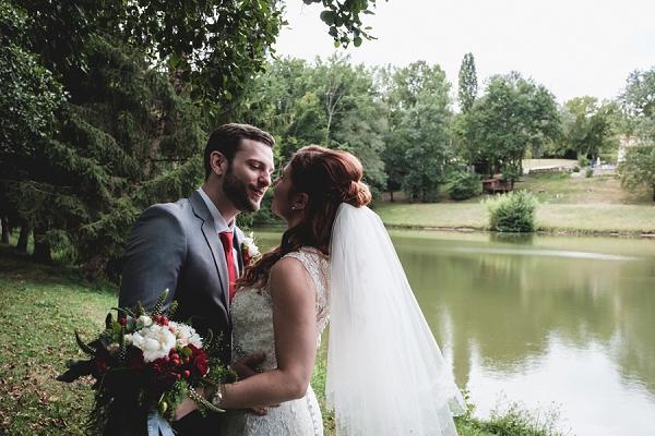 lake side wedding france
