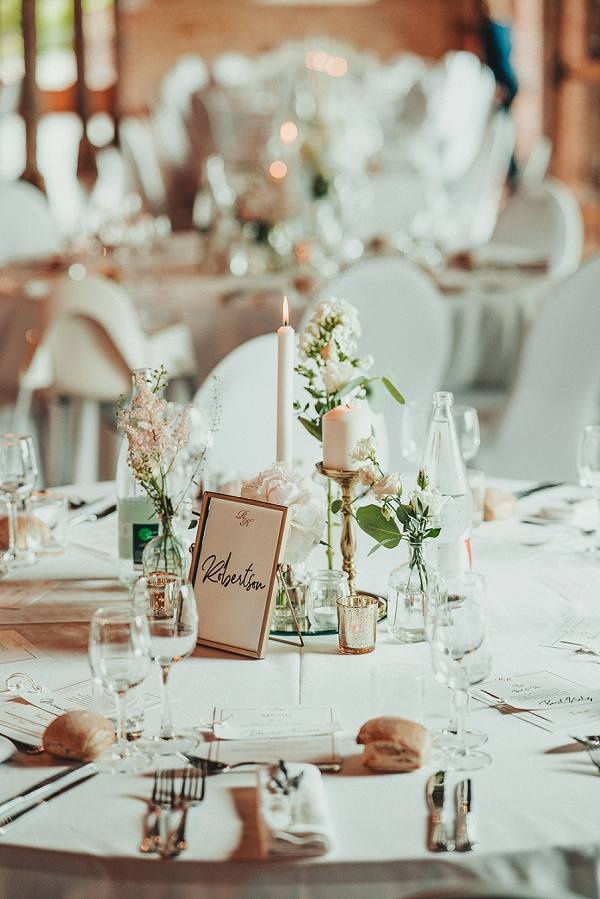 simple and elegant wedding decor