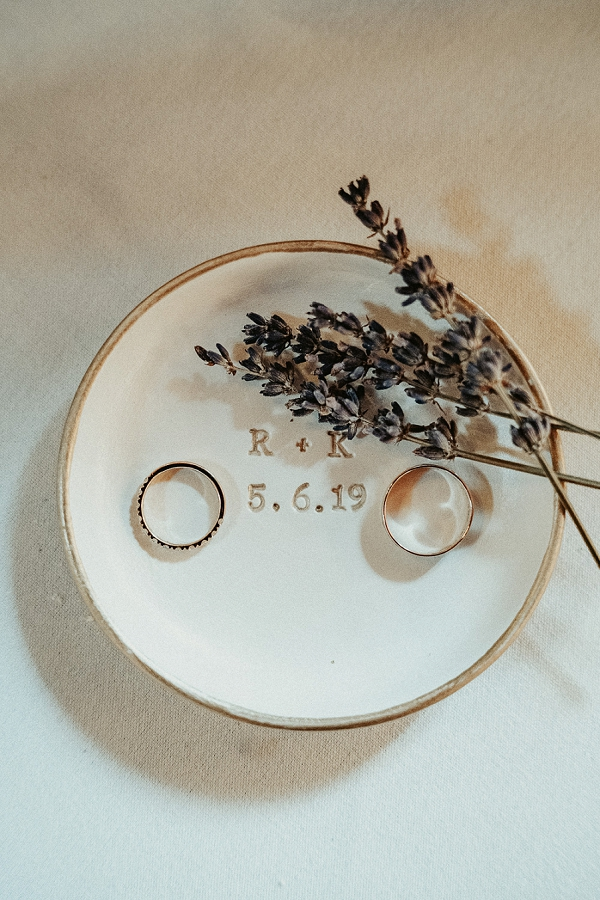 simple wedding details