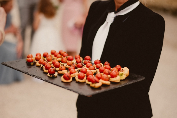 wedding day canapes