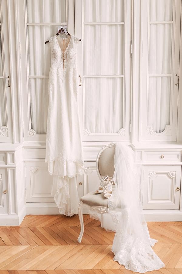 BERTA bride French chateau