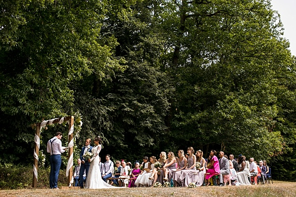 Ceremony at Chateau de Miserai