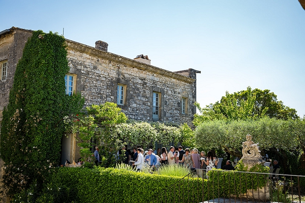 Chateau St Maximin outdoor wedding
