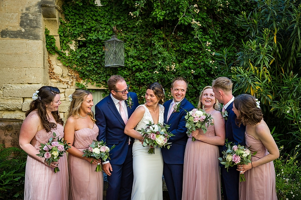 Chateau St Maximin real wedding
