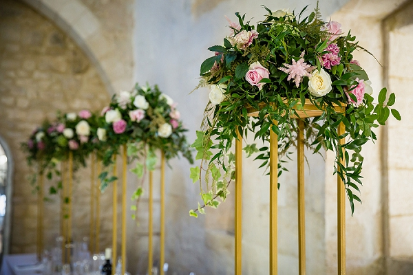 Chateau St Maximin wedding florist