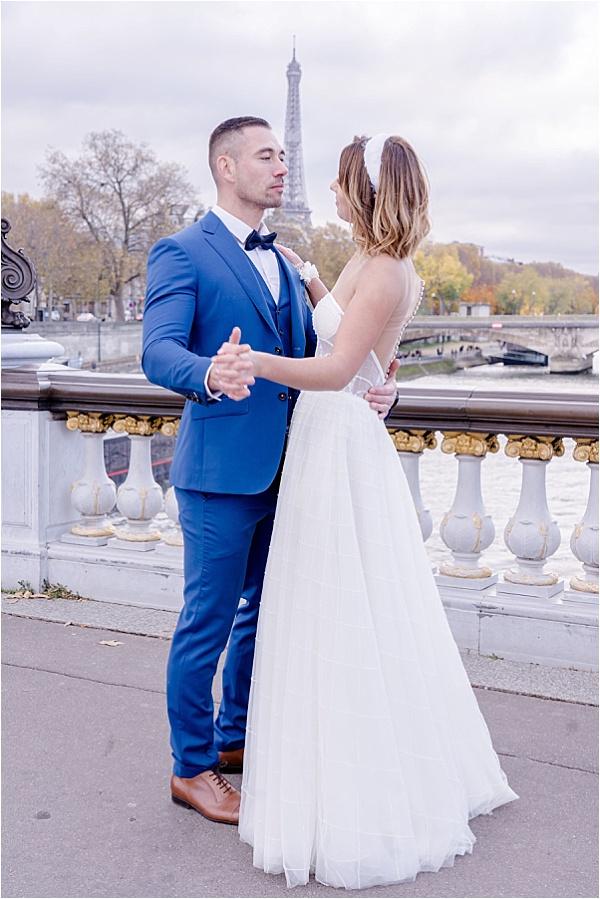 Chris Von Martial Suit and Dress
