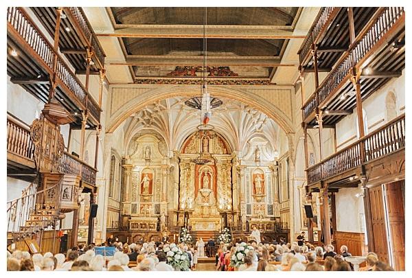 Church wedding service