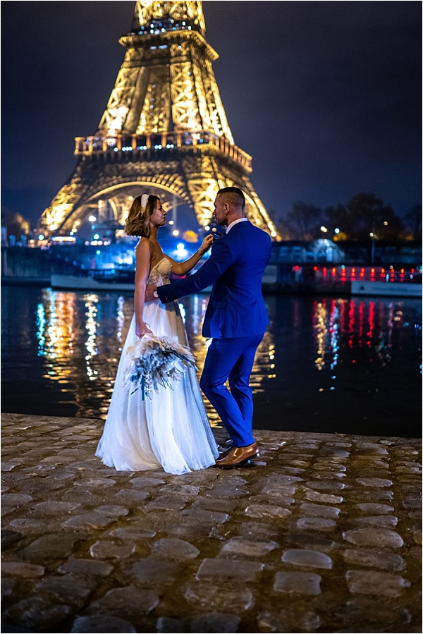 Dancing by the Eiffel Tower