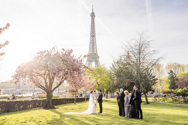 Elopement in Paris Spring