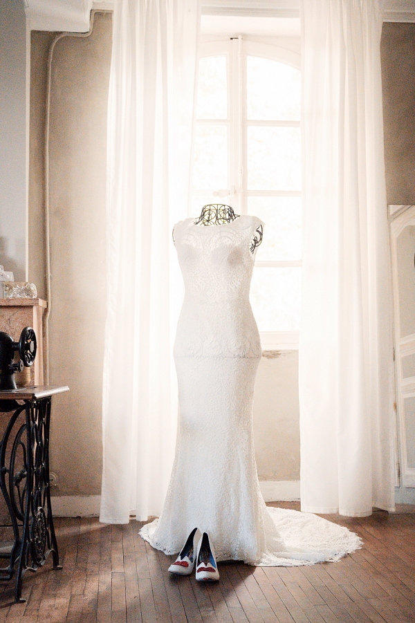 Heidi Hudson wedding dress