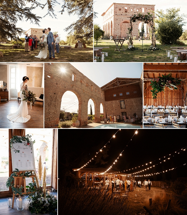 Intimate autumnal wedding in South West France Snapshot