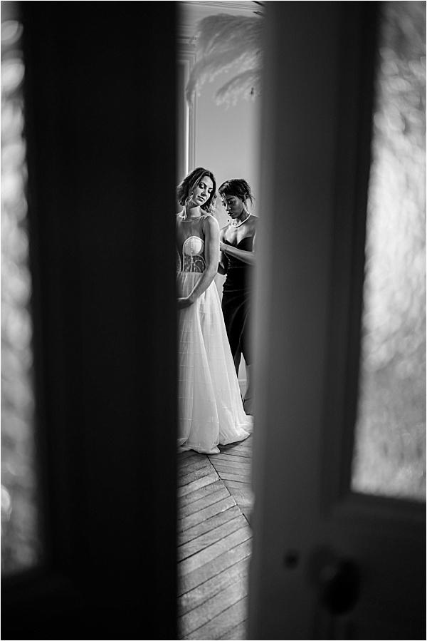 THE SECRET OF INDIRIHYA helping the bride prepare